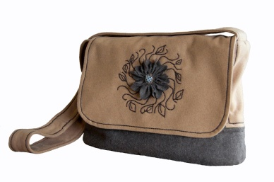 Woolflower Bag Collapsed