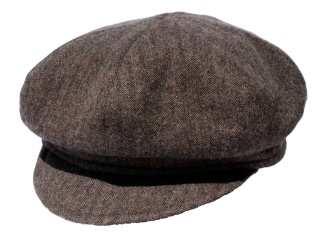 Brown Gatsby Style Hat