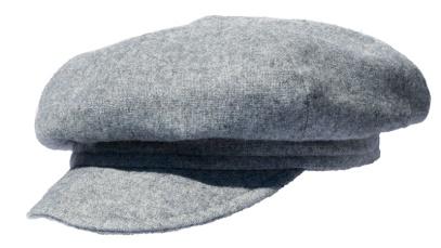 Grey Gatsby Style Hat