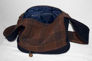 Oak and Acorn Bag Inside