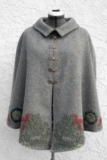 Lichen Cape front, collar down