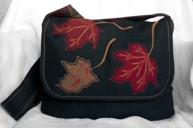 Maple Leaf Bag Front