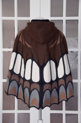 Butterfly Cape back view